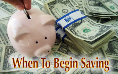 When to Begin Saving